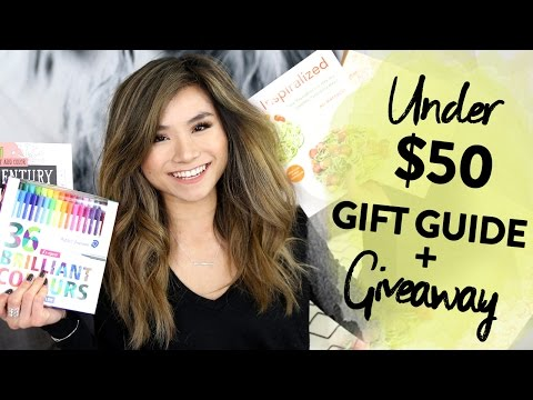 2016 UNDER $50 Holiday Gift Guide + GIVEAWAY | Affordable Christmas Gift Ideas | Miss Louie