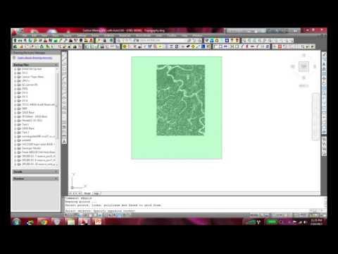 3D GEOLOGIC MODELING-CREATING OVERBURDEN MAP