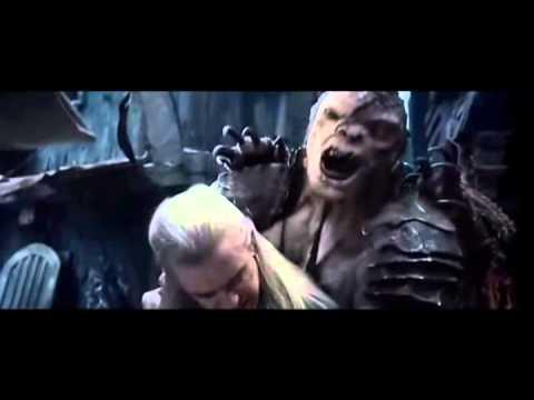 No More Music - The Hobbit - Legolas Vs Bolg Fight Scene