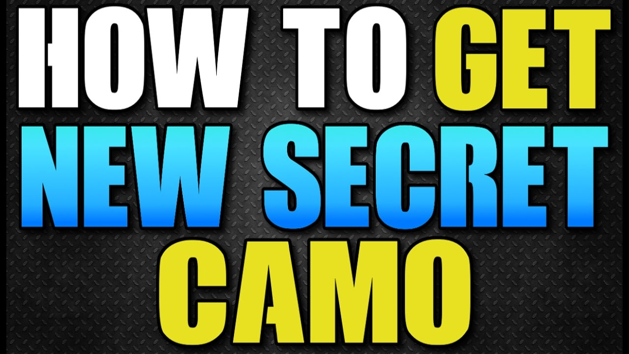 THE DIVISION - HOW TO UNLOCK NEW SECRET CAMO IN PATCH 1.5! HOW TO ...