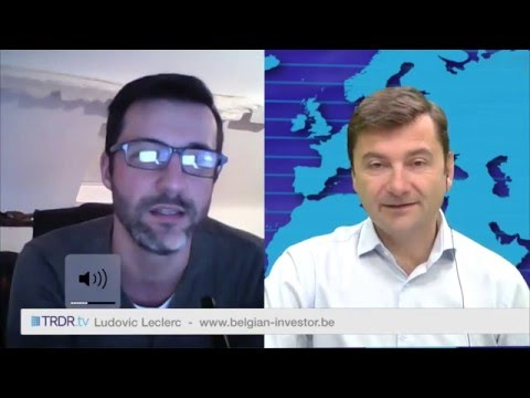 TRDR.tv Interviews Ludovic Leclerc from belgian-investor.be/