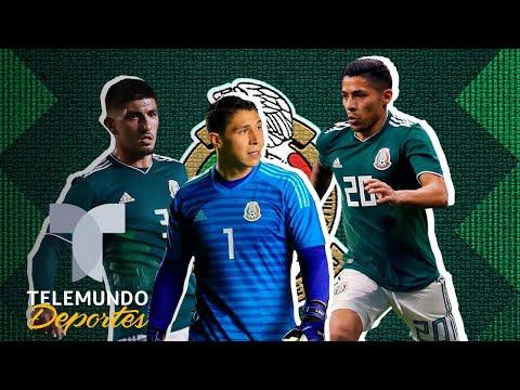 Seleccionados llegan contentos al llamado de la Selección Mexicana   Telemundo Deportes