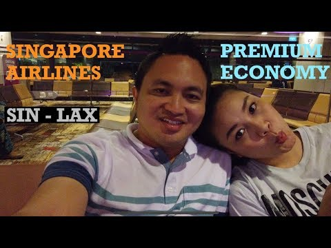 REVIEW SQ PREMIUM ECONOMY SIN TO LAX