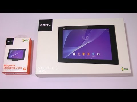 Sony Xperia Z2 Tablet Unboxing and First Impressions - Screwdriver Style!