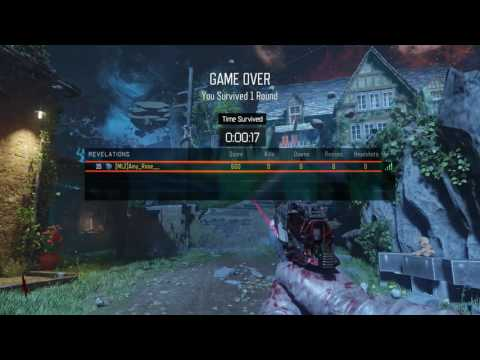 BO3 Zombies - PRIMIS RULZ CALLING CARD WITHOUT ALL EASTER EGGS COMPLETED!