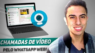 Como fazer CHAMADA DE VÍDEO pelo WHATSAPP WEB no PC