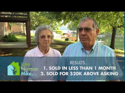 Lake Norman For Sale by Owners 'Bob & Peggy' Review Lake Norman Mike & Co