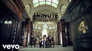 4minute - Volume Up @ www.OfficialVideos.Net