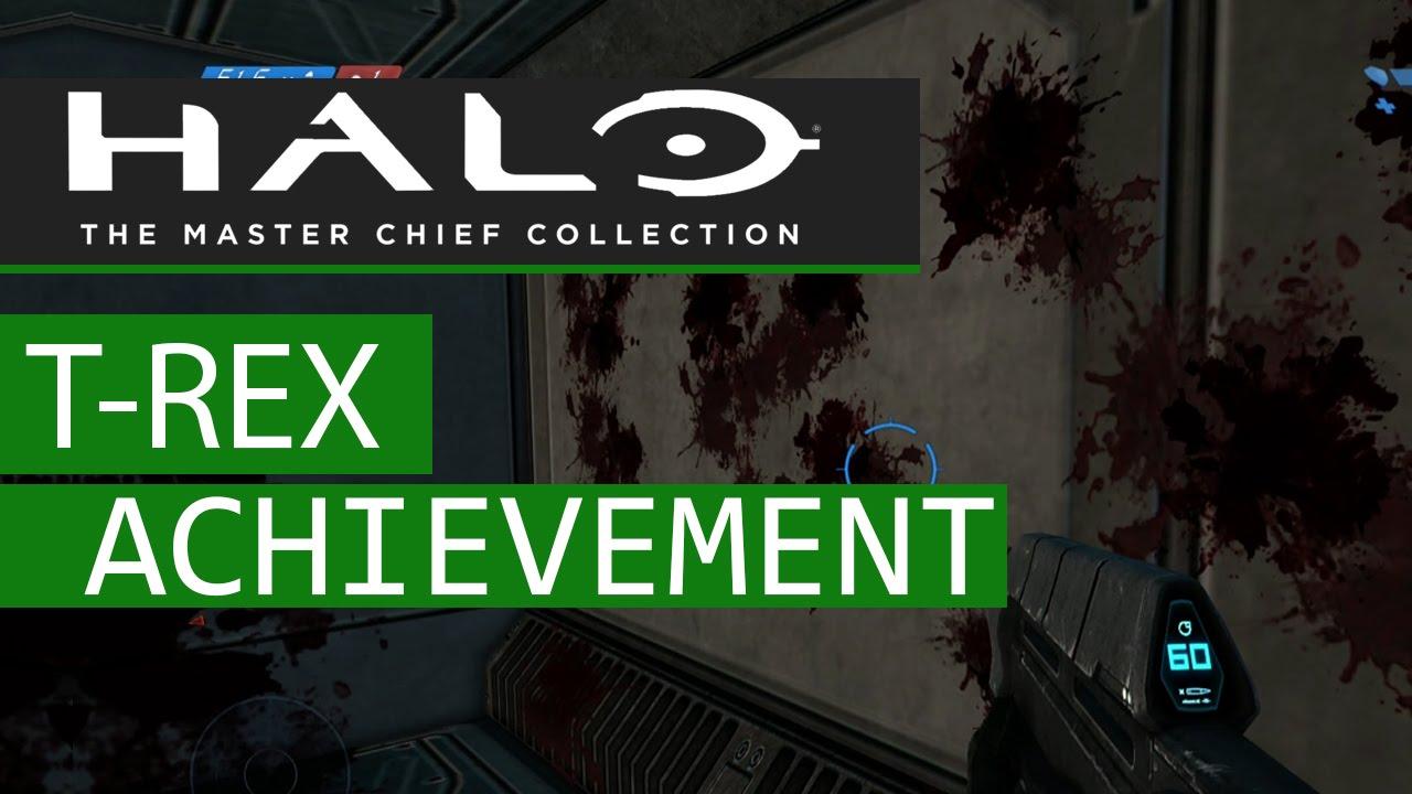 Halo Master Chief Collection Halo Ce T Rex Achievement