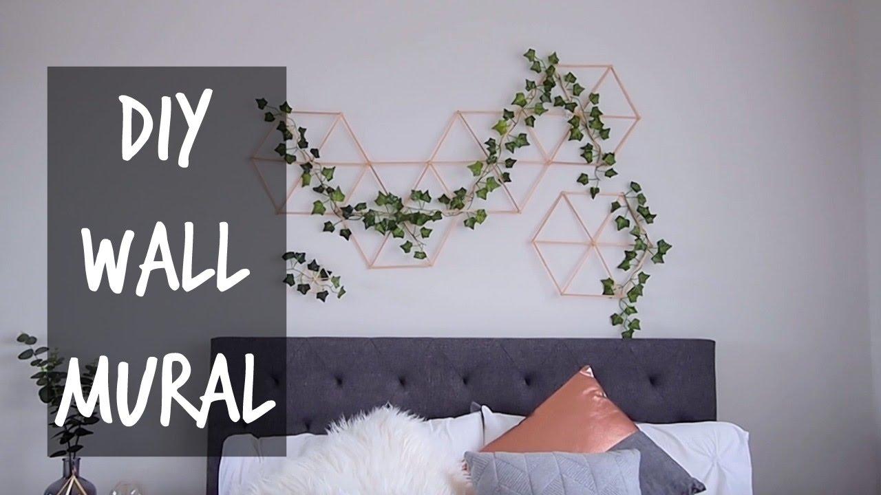 Diy Jungle Wall Mural Youtube