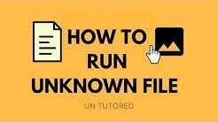 How to open Unknown file types, file formats and file extensions?