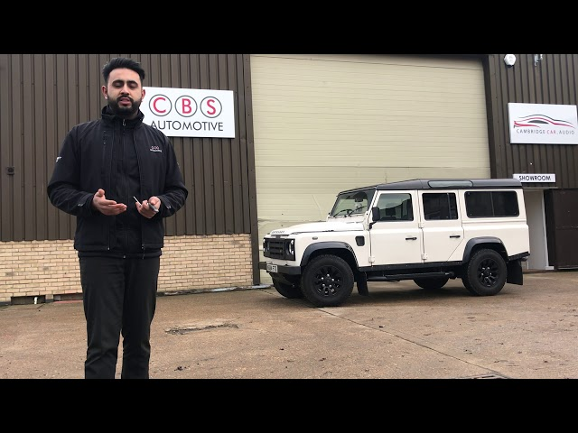Best way to secure your Land Rover Defender | CBS Automotive