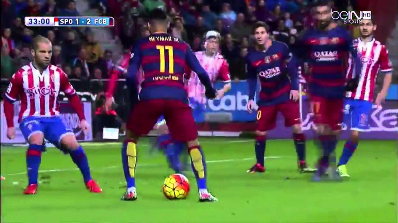 Download Sporting Gijon vs Barcelona 1-3 Extended Highlights (17.02.2016) With English Commentary