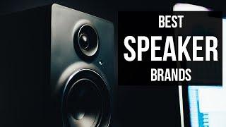 Top 5 Best Speaker Brands of 2017
