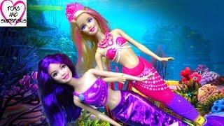 Мультик Барби Русалка - Barbie Mermaid Видео для девочек.
