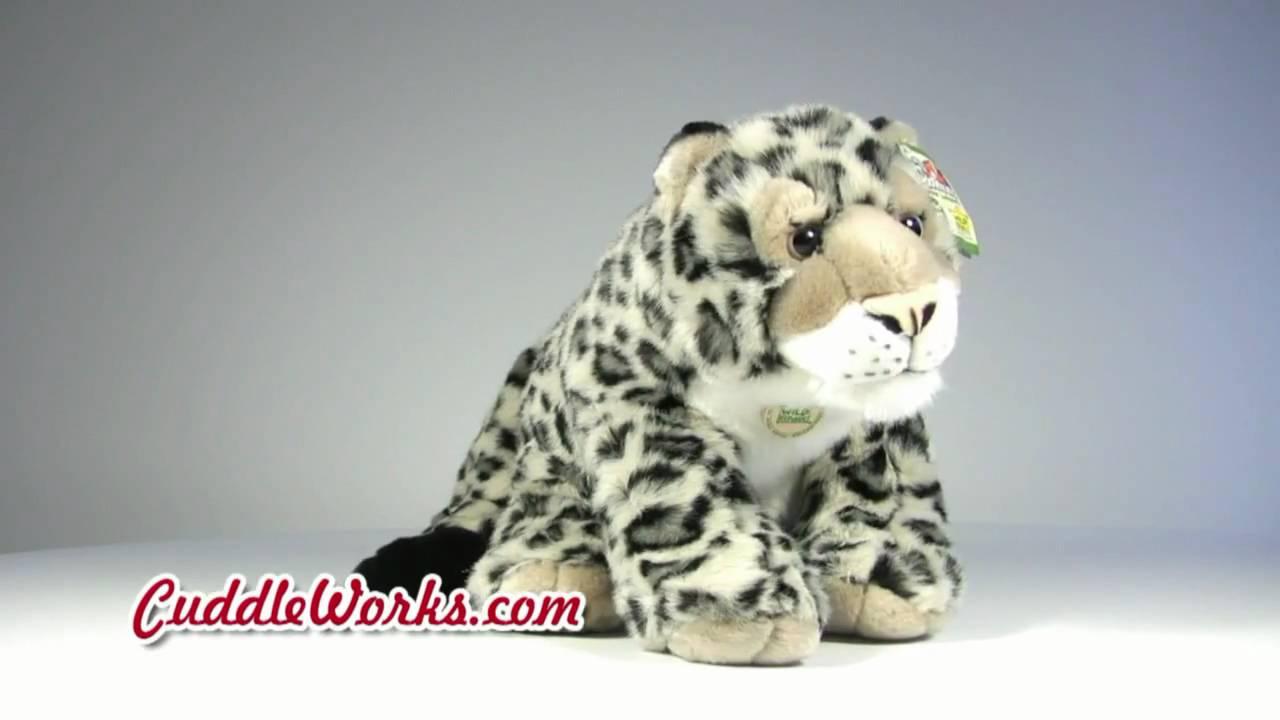 Cuddlekins Snow Leopard Stuffed Animal At Cuddleworks Com Youtube