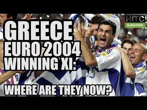 Greece's Euro 2004 Winning XI: Where Are They Now?