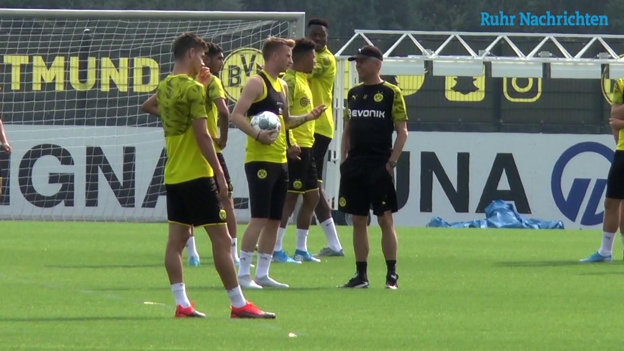 Der BVB bereitet sich auf das Union-Spiel vor