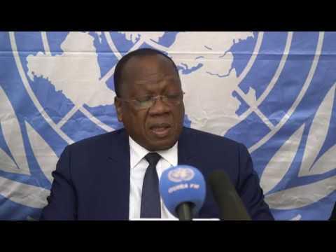Conférence de presse conjointe UNOCA/CEEAC