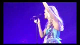 Carrie Underwood in hamilton,ont 3/28/13