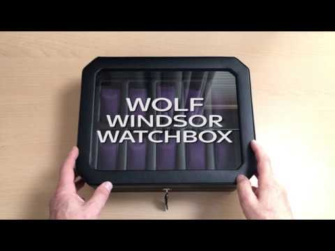 Wolf Windsor Watchbox - Massdrop Purchase