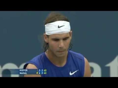 Rogers Cup Masters Toronto 2008 Final Highlights - Rafael Nadal V Nicolas Kiefer