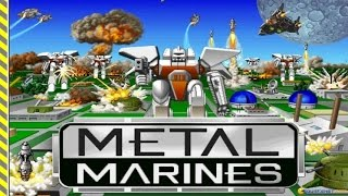 Metal Marines gameplay (PC Game, 1994)