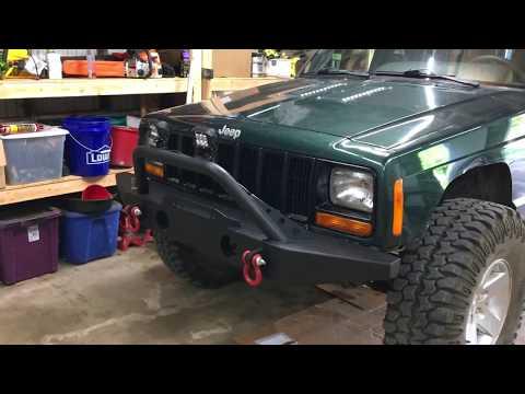 How to put a JK bumper on an XJ