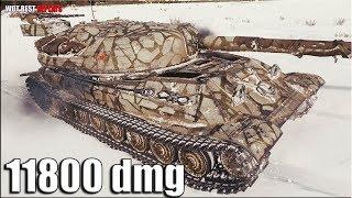Объект 705А Мастер ❎ почти 12к урона ❎ World Of Tanks лучший бой ТТ 10 СССР