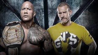 The Rock vs CM Punk - WWE Championship - Elimination Chamber 2013