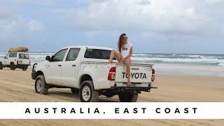 Australia Vlog - East Coast - Whitehaven Beach & Fraser Island