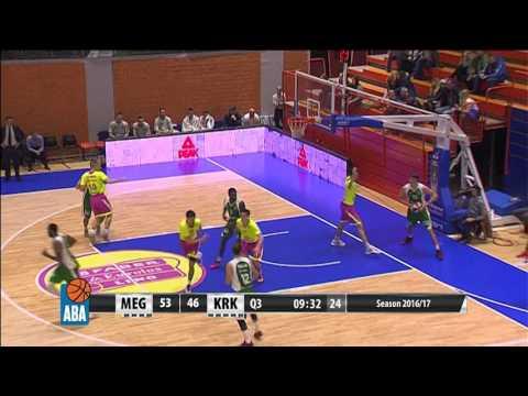ABA Liga 2016/17 highlights, Round 8: Mega Leks - Krka (5.11.2016)