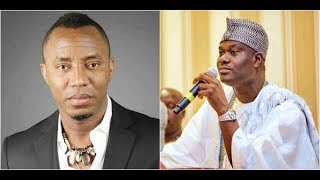 Gambar cover SOWORE TEARGASSED AT OONI'S PALACE