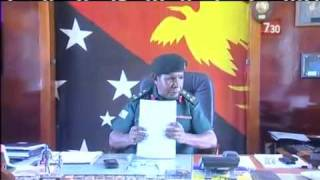 Papua New Guinea faces military mutiny