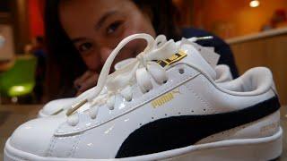 BTS x Puma Basket Patent Shoes #UNBOXING