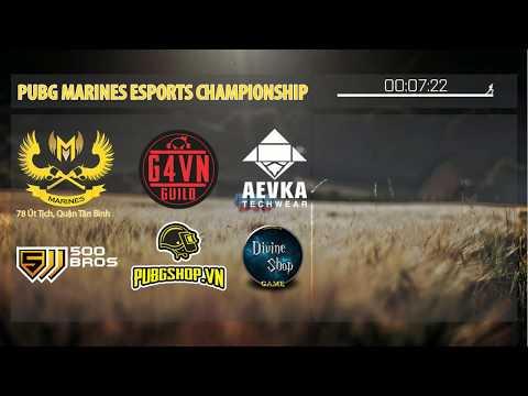 [PUBG] Bình luận giải đấu Marine Esport Championship - Squad