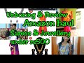 Amazon haul|Best jewellery & Sarees under ₹500|Unboxing&review|Online saree &jewellery shopping|Asvi