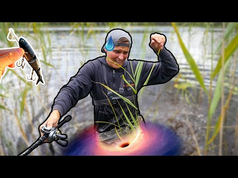 BLACK MARSH HOLE ALMOST DEVOURERS EDVIN.. (FISHING WITH SURFACE LURES) | Team Galant