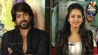 Masterpiece Kannada Movie Press Meet   Yash, Shanvi Srivastava