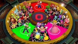 Super Mario Party MiniGames - Luigi Vs Mario Vs Yoshi Vs Rosalina (Master Cpu)