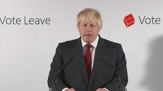 Boris Johnson on Brexit: