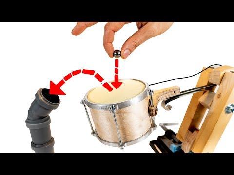 Kick Drum Soundcheck - Marble Machine X #74