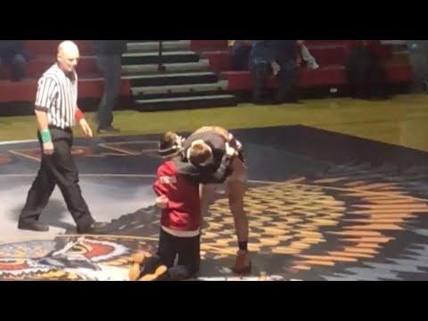 Disabled Teen Wins High-School Wrestling Match