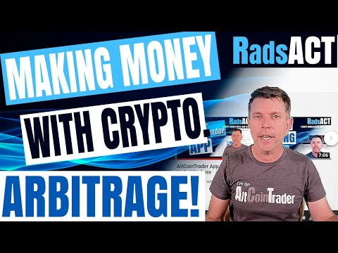 Making Money With Crypto. Arbitrage!