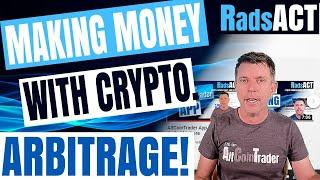 Making money with crypto. Arbitrage!