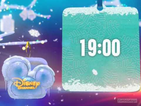 Disney Channel Hungary Christmas Advert and Logo 2012
