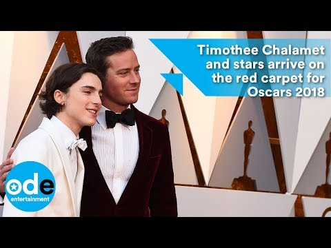 Oscars 2018: Timothée Chalamet and stars arrive on the red carpet