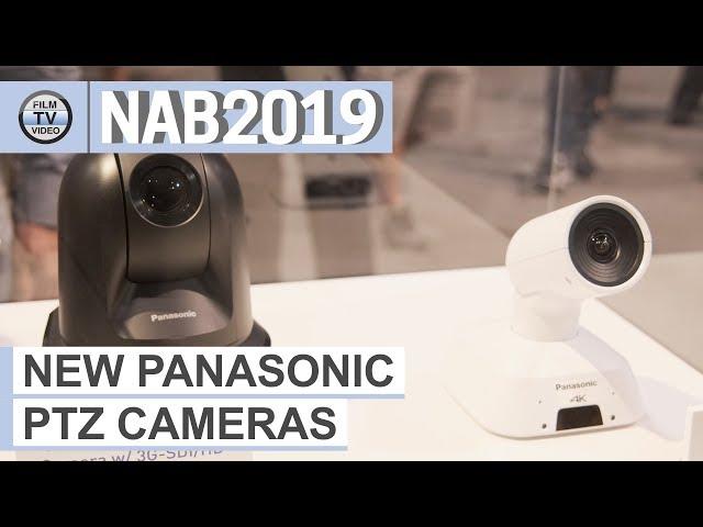 NAB2019: New Panasonic PTZ Cameras