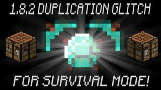 Minecraft Xbox 360: Brand New Duplication Glitch Works With 1.8.2 (Post Patch) Diamonds