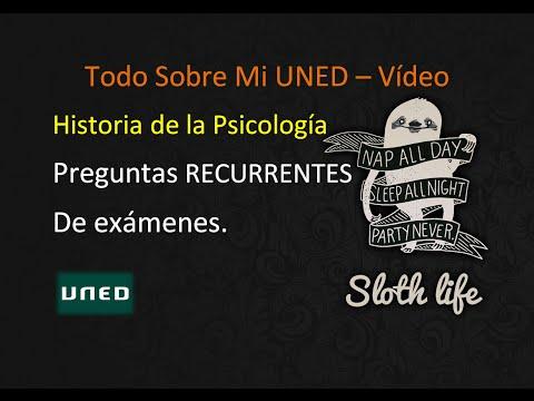 UNED - Historia de la Psicología 2015 - Preguntas RECURRENTES.